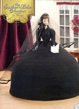 In Mourning Southern Belle Fashion Doll Dress Crochet Pattern Booklet - $5.37