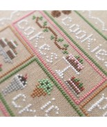 Sweet Sampler cross stitch chart Country Cottag... - $7.20
