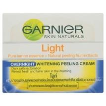 Garnier Skin Naturals Light Overnight Whitening Peeling Cream 18 ml - $7.37
