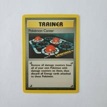 Pokemon Base Set 1999 Trainer Pokemon Center LP 85/102 TCG Card Game Unlimited - $2.99