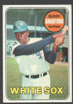 Chicago White Sox Buddy Bradford 1969 Topps Baseball Card 97 ex+/em - $1.25
