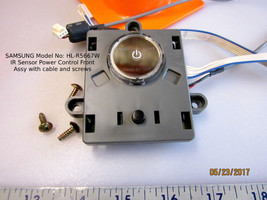 SAMSUNG HL-R5667W - IR Sensor Power Control Front Assy with cable and screws - $17.72
