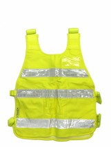 REFLECTIVE YELLOW SAFETY VEST EY01 ANSI CLASS 2 with Reflective Strips