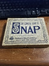 Game Of Snap PARKER BROTHERS  EARLY 1900s 24 Cards VINTAGE - $59.39