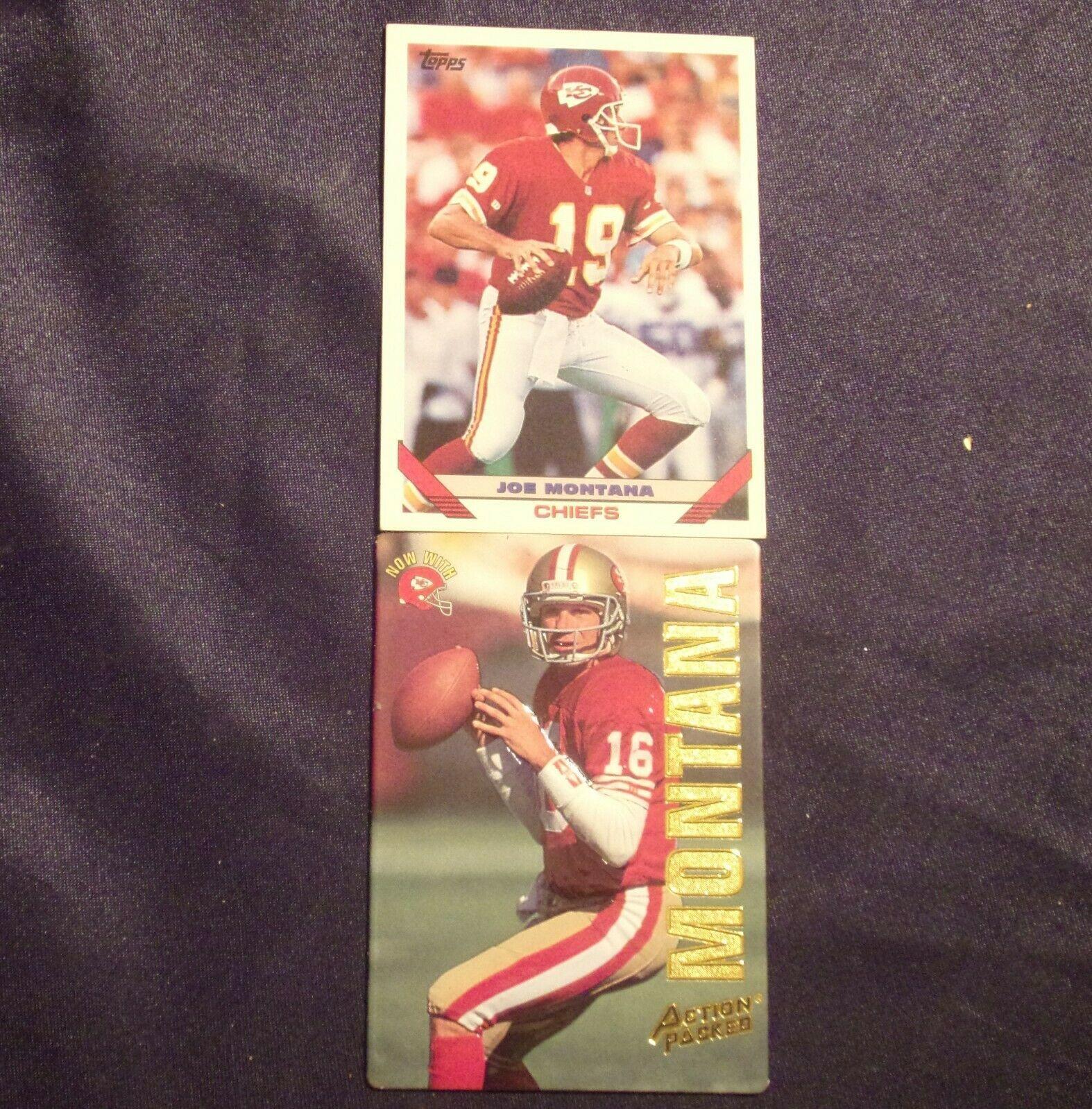 Joe Montana - QB Football Trading Cards AA-19FTC3010 Vintage