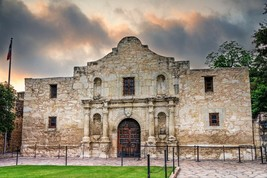 THE ALAMO POSTER 24 X 36 Inches Looks beautiful Nostalgia San Antonio, T... - $19.94