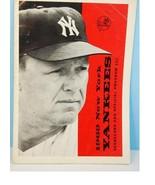 1969 New York Yankees Program Scorecard Unscored v Boston Red Sox - $15.79