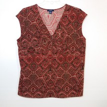 Chaps Womens Size 3X Pullover Top Blouse Sleeveless - $11.30