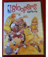 NBA BLOOPERS VOLUME ONE DVD- SHAQ- K. GARNETT- G. ARENAS- NEW- FREE SHIP... - $12.50
