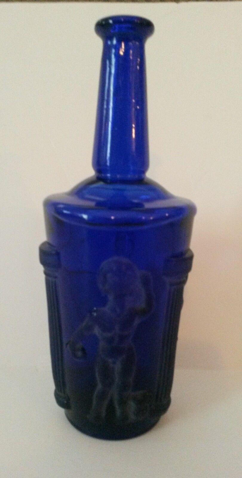 Vintage Doan Cobalt Blue Glass Bottle and 50 similar items