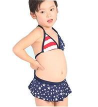 PANDA SUPERSTORE Cute Children Kids Swimwear Bikini Girl's Swimwear Two-Piece Sw