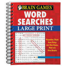 Large Print Word Search Book-Vers. 2 - $16.99
