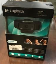 LOGITECH C920  HD PRO WEBCAM  HD 1080p NEW! G1 - $38.99