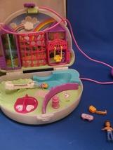 Polly Pocket Polly & Shani Rainbow Dream Purse Wearable Compact Doll Pla... - $25.00