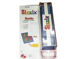 Sizzix-Classic Alphabet with Shadows Die Set, Includes 35 Dies