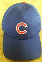 MLB ~ CHICAGO CUBS ~ Genuine Merch. Blue Ball Cap Hat ~ Snap Back Baseba... - $29.69