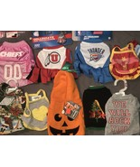 Dog Clothes XS Lot of 9 Toy Small Breed Shirt Costume Jersey Sweatshirt - $24.18