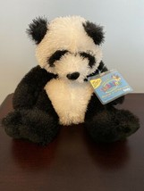 NEW Webkinz Panda HM 111 with attached UNUSED code NWT Retired - $14.01