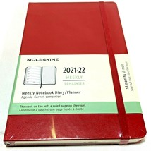 Moleskine Diary Planner 18 Months 2021-2022 Weekly Planner Hard Cover St... - $19.40