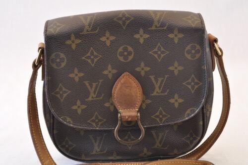 LOUIS VUITTON Monogram Saint Cloud MM Shoulder Bag M51243 LV Auth 7789
