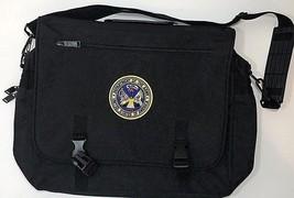 USA Department of the Army Bag Messenger Laptop Black Shoulder - $39.74 CAD