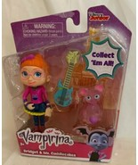 Disney Jr Vampirina Bridget and Ms Cuddlecakes Dolls Figures Toys New - $13.85