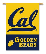 Cal Golden Bears 28 X 40 Premium 2-Sided Banner With Pole Sleeve  - $37.95