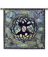 52x51 CELTIC TREE OF LIFE Europe Tapestry Wall Hanging  - $180.00