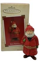 2003 Hallmark Keepsake KRIS KRINGLE Christmas Tree Santa Claus Ornament - $10.39