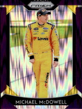 Michael McDowell 2019 Panini Prizm Purple Flash Parallel Card #22 - $2.00