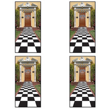 1 Count Beistle Checkered Runner Black and White Racing Party Item High ... - ₨1,004.69 INR