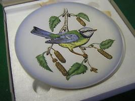 1974 GOEBEL Plate Wildlife Series #.2 BLUE TITMOUSE-NIB.......FREE POSTA... - $17.89