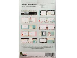 "S.E.I. Scrapbook in a Bag, Winter Wonderland 4"" x 6"" Memory Book Kit image 2"
