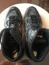 ASICS Spilt Second Black/white Mesh Wrestling Shoes Mens 12 image 7