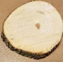 Box Elder/Ash Leaf Maple Wood slab coaster size image 3