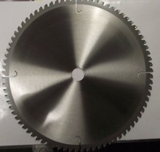 "Vermont American 27839 12"" x 80 ATB Carbide Trim Saw Blade Unmarked Bulk - $17.82"