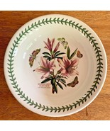 "Portmeirion Botanic Garden 10"" Pasta Serving Bowl Rhododendrum Lily England - $74.95"