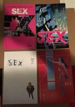 SEX Image Comic Book #1 - 4 2013 NM Condition Complete Run - $7.19