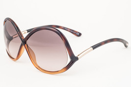 Tom Ford Ivanna Dark Havana / Brown Gradient Sunglasses TF372 52F - $165.62