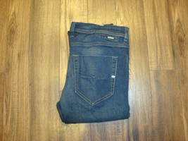 Genuine Original Diesel Tepphar Mens Jeans Slim-Carrot Size W33 L32 With... - $39.14