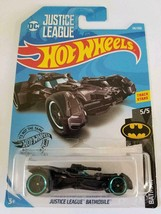 2019 Hot Wheels 66/250 Justice League Batmobile #5/5 Batman NEW - $7.91