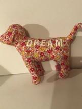 Victoria's Secret Pink Mini Stuffed Dog Dream Floral - $5.93