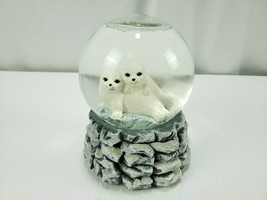 Snow Pups Musical Snow Globe - $23.12