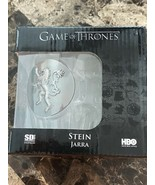 """HBO's Game Of Thrones Beer Stein """"Jarra"""" House Lannister Collectible Gla... - $28.70"""