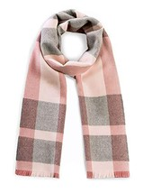 Alpaca Wool Scarf - 100% Pure Baby Alpaca Wool - Unearthed Large Plaid w... - $89.43