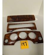 JAGUAR  XJ8 VDP 1999 Wood Dash Vent Bezel Set Beautiful Used OEM Part #147 - $98.95