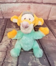 """Disney Parks Baby Tigger 9"""" Plush Rattle Chime Mint Green Winnie the Pooh - $6.64"""