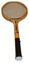 Vintage Champion Wood Tennis Racket Super Pro Tennis - $27.40