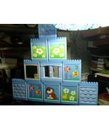 Lot of 11 Mega Bloks Mega Play My Own House Huge Wall Building Panels, W... - $49.45