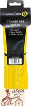 CYCLEOPS 700 X 23 YELLOW FOLDING BEAD TRAINER TIRE - $31.18